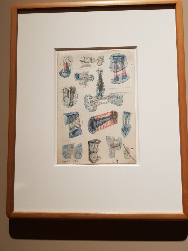 Sketches by Henry Moore